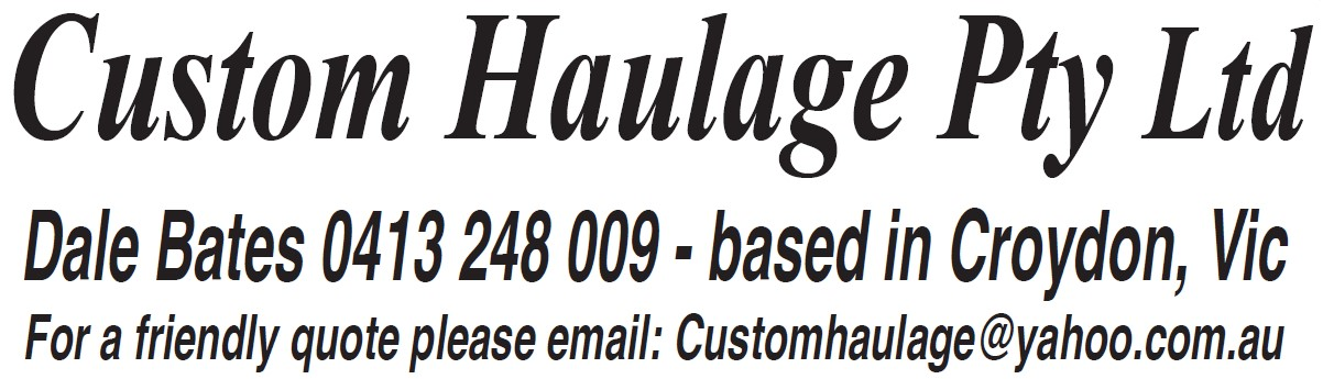 Custom Haulage